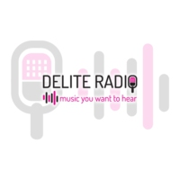 Logo of radio station Delite Radio