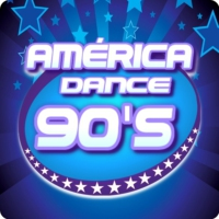 Logo of radio station América Dance 90's