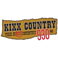 Logo of radio station CJYQ-AM 930 KIXX Country