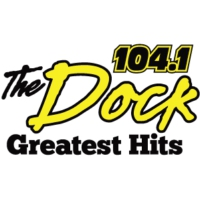 Logo de la radio 104.1 The Dock