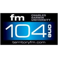 Logo of radio station Territory FM 104.1