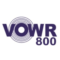 Logo of radio station VOWR 800