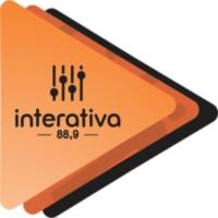 Logo of radio station Rádio Interativa FM