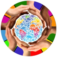 Logo de la radio UbuntuFM World Radio