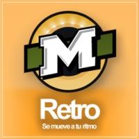 Logo of radio station La Mega Retro