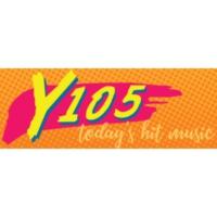 Logo of radio station KLYV Y105