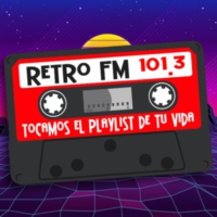 Logo of radio station XHMAB Retro Fm 101.3