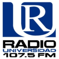 Logo of radio station Radio Universidad 107.5 FM