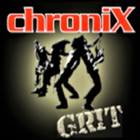 Logo of radio station ChroniX - GRIT