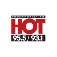 Logo de la radio WCHZ Hot 95.5 & 93.1