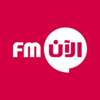 Logo of radio station راديو الآن