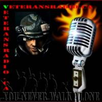 Logo of radio station VeteransRadio.ca LIVE!