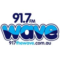 Logo de la radio 91.7 The Wave