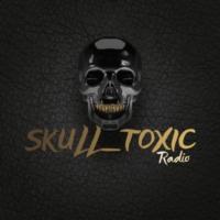 Logo of radio station SKULL TOXIC RADIO