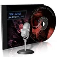 Logo de la radio Bass Station DnB on MixLive.ie