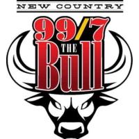 Logo of radio station KMTK 997 The Bull