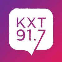 Logo of radio station KXT 91.7