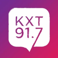 Logo of radio station KXT 91.7