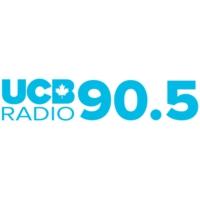 Logo of radio station CJAH-FM UCB Canada 90.5