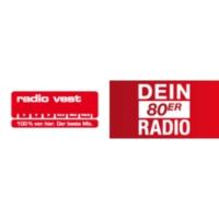 Logo of radio station Radio Vest – Dein 80er Radio