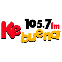 Logo of radio station XHLJ Ke Buena 105.7 FM