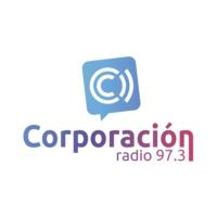 Logo of radio station Radio Corporación