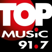 Logo de la radio XHKH Top Music 91.7 FM