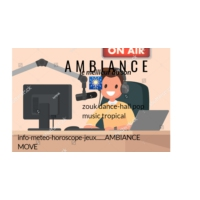 Logo de la radio ambiance9.7
