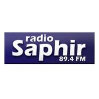 Logo de la radio SAPHIR FM 89.4 GUADELOUPE