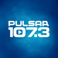 Logo of radio station XHFG Pulsar 107.3 FM