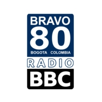 Logo of radio station BBC 80s