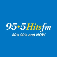 Logo of radio station CJOJ-FM 95.5 Hits FM