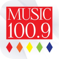 Logo of radio station Music 100.9