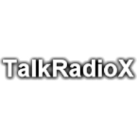 Logo of radio station Talk Radio X