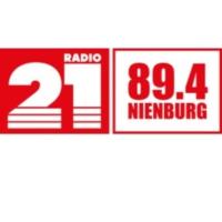 Logo of radio station RADIO 21 - Nienburg