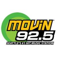 Logo de la radio KQMV MOViN 92.5