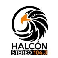 Logo of radio station XHJIM Halcón Stereo 104.3
