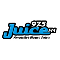 Logo of radio station CKVV 97.5 Juice FM