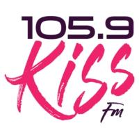 Logo of radio station WDMK 105.9 Kiss-FM