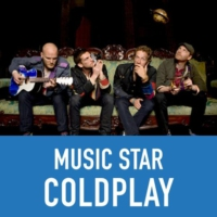 Logo of radio station Music Star ColdPlay