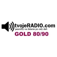 Logo de la radio tvojeRADIO.com Gold 80/90