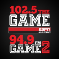 Logo de la radio WPRT 102.5 The Game