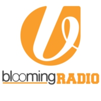 Logo of radio station bloomingradio