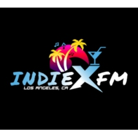 Logo of radio station INDIE X FM