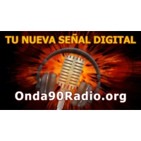 Logo of radio station ONDA 90 RADIO