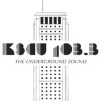 Logo of radio station KSCU 103.3