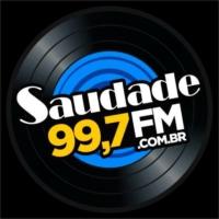 Logo de la radio Saudade FM