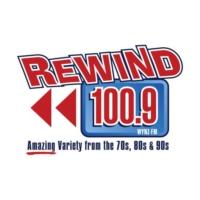 Logo of radio station WYNZ Rewind 100.9
