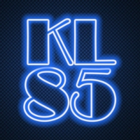 Logo of radio station KL85 RADIO