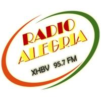 Logo de la radio XHBV Radio Alegria 95.7 FM